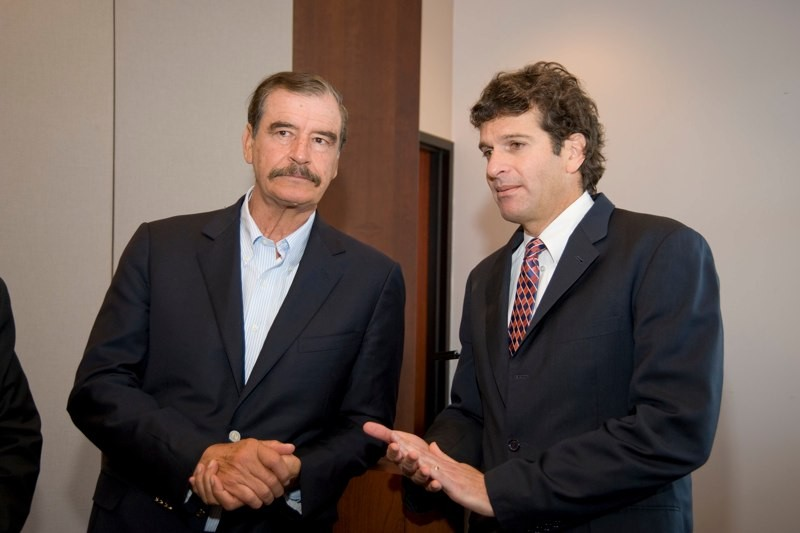 President Vicente Fox, former President of Mexico